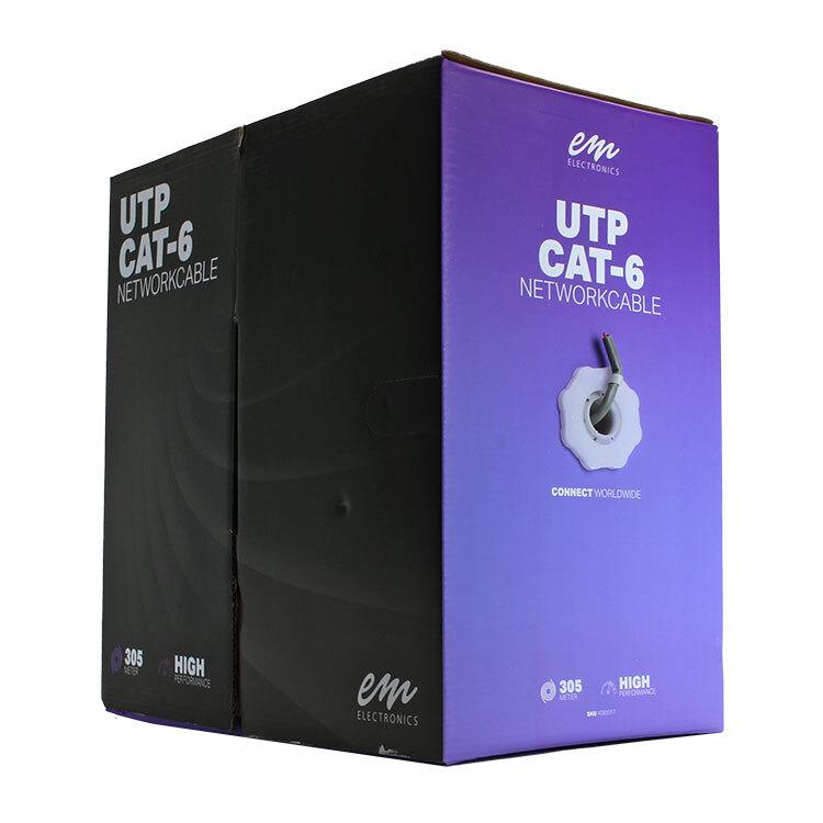 UTP CAT6 kabel rol van 305 meter