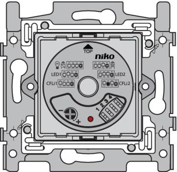 Niko Basiselement - Dimmer 325W Druk/draai 310-01901