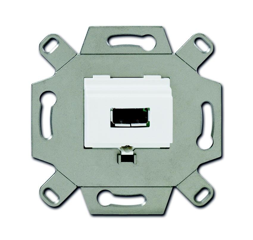 ABB Busch-Jaeger aansluitdoos USB inbouw - alpin wit (0261/12)