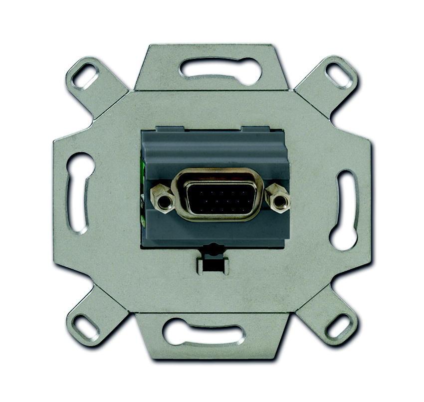 ABB Busch-Jaeger aansluitdoos VGA inbouw - grijs (0261/23)