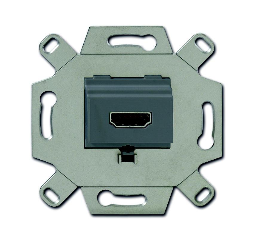ABB Busch-Jaeger aansluitdoos HDMI inbouw - grijs (0261/33)