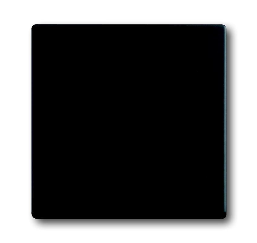 Busch-Jaeger bedieningswip aan/uit voor inbouwwisselschakelaar, kruisschakelaar - future linear zwart mat (1786-885)