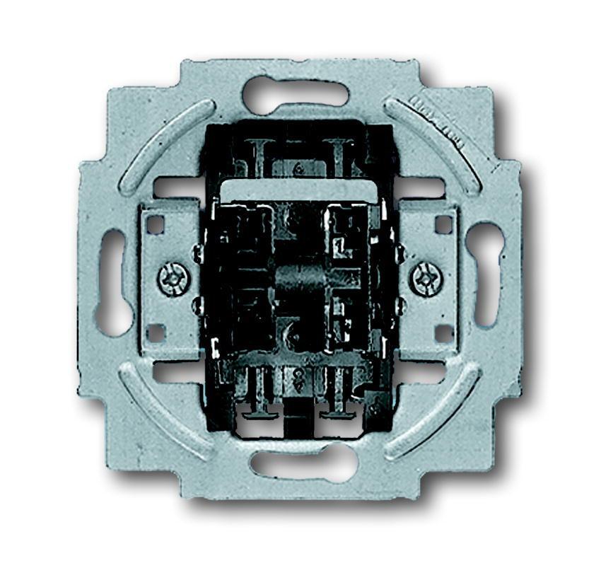Busch-Jaeger jaloezieschakelaar voor afdekking drukknop terugverend (2020/4 US)