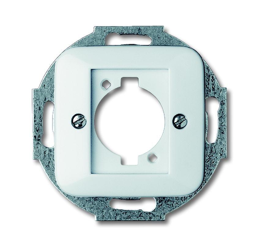 Busch-Jaeger centraalplaat voor Neutrik-connector - All-weather 44 alpinwit (2553-214)