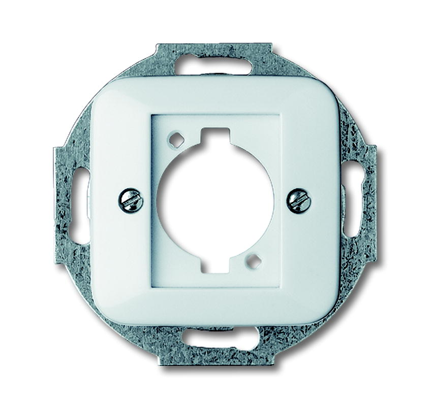 Busch-Jaeger centraalplaat voor Neutrik-connector - All-weather 44 alpinwit (2553-214)