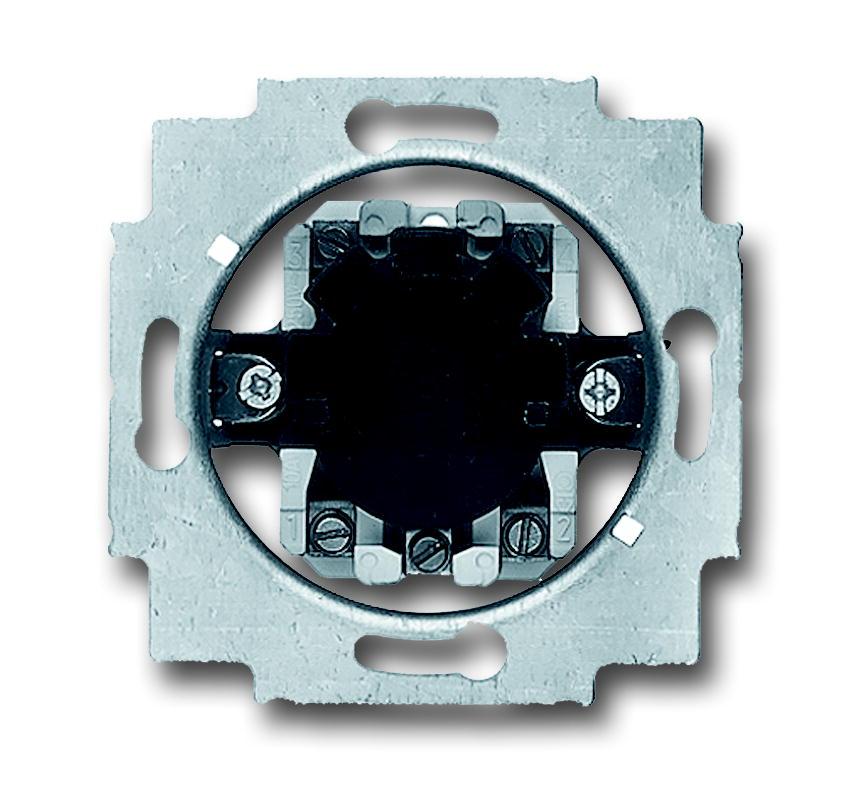 Busch-Jaeger jaloezieschakelaarsokkel inbouw 1P +slot (2713 USL-101)