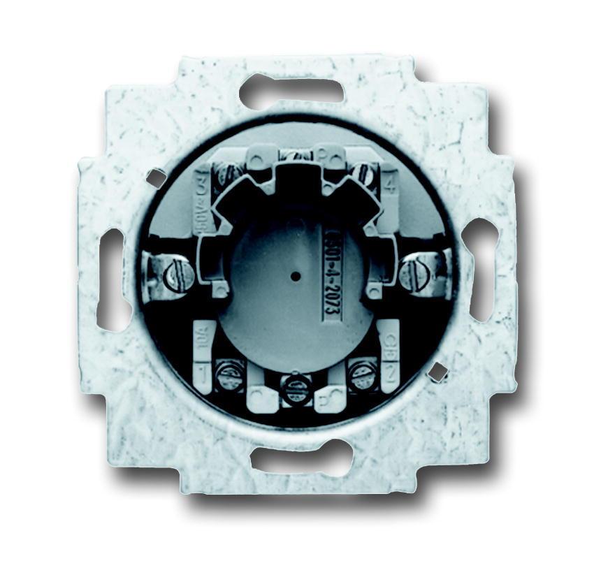 ABB Busch-Jaeger jaloezieschakelaarsokkel inbouw 2P +slot (2722 USL-101)