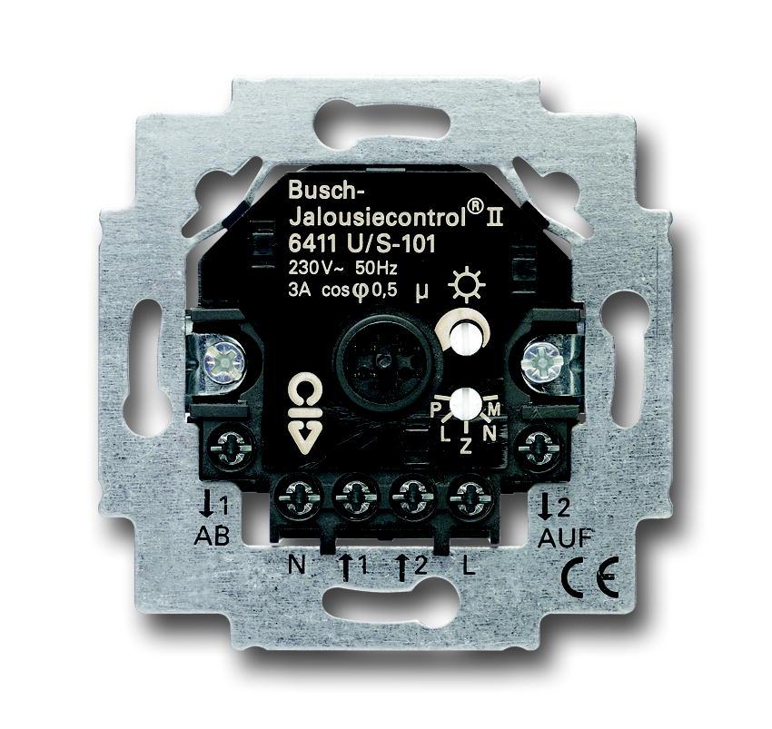Busch-Jaeger jaloezieschakelaar controle II sokkel