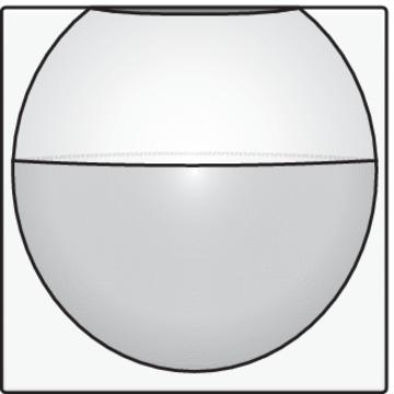 Niko bewegingssensor binnen afwerkingsset - Home Control wit (101-55511)