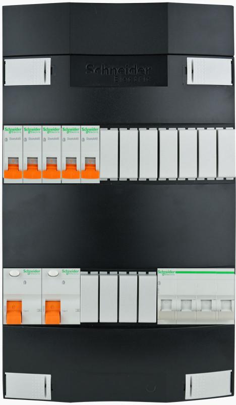 SCHNEIDER Groepenkast 5 groepen 3 fase 220x380 (BxH)