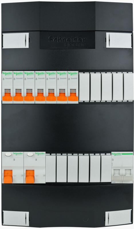 SCHNEIDER Groepenkast 7 groepen 1 fase 220x380 (BxH)