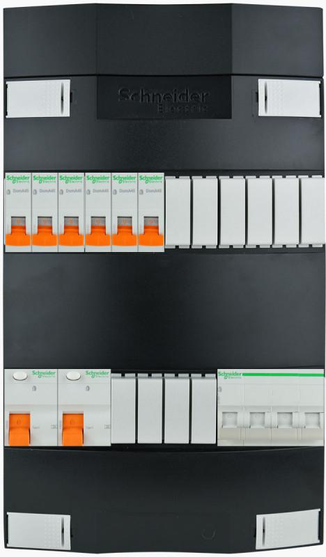 SCHNEIDER Groepenkast 6 groepen 3 fase 220x380 (BxH)