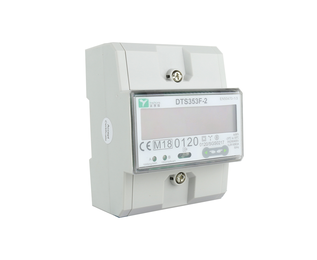 EMAT kWh meter 80A 3-fase modbus MID