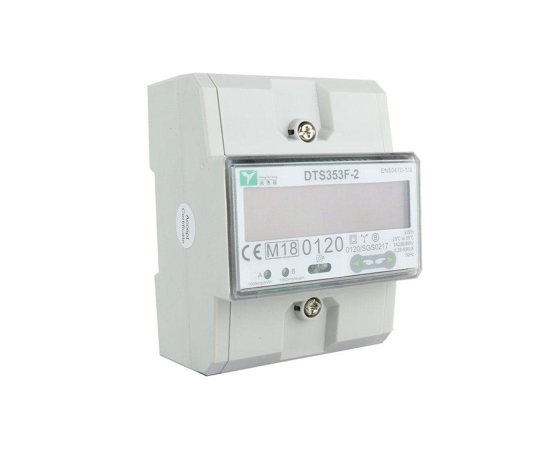 EMAT kWh meter 80A 3-fase modbus MID (5299)