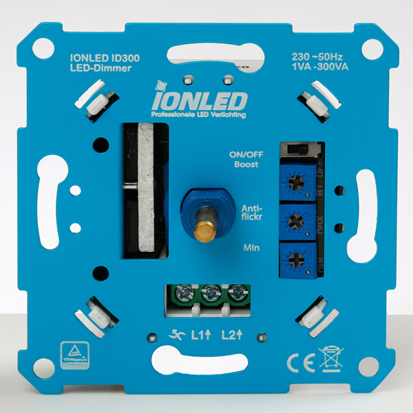 iONLED universele led dimmer 0-300W