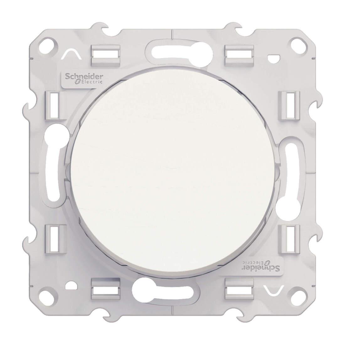 Schneider Electric Odace wisselschakelaar 10A - wit (S520203)