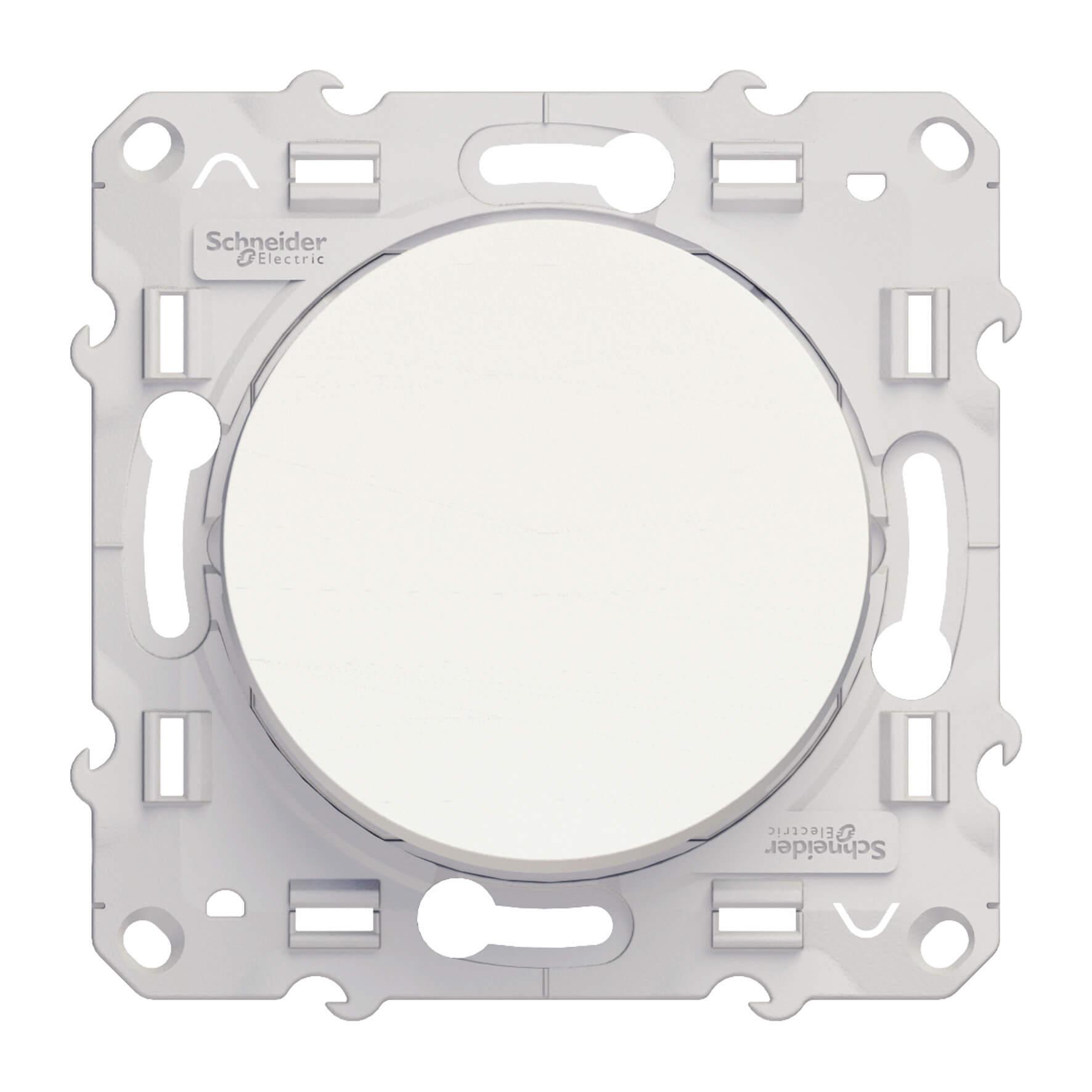 Schneider-Merten Odace wisselschakelaar 10A - wit (S520203)