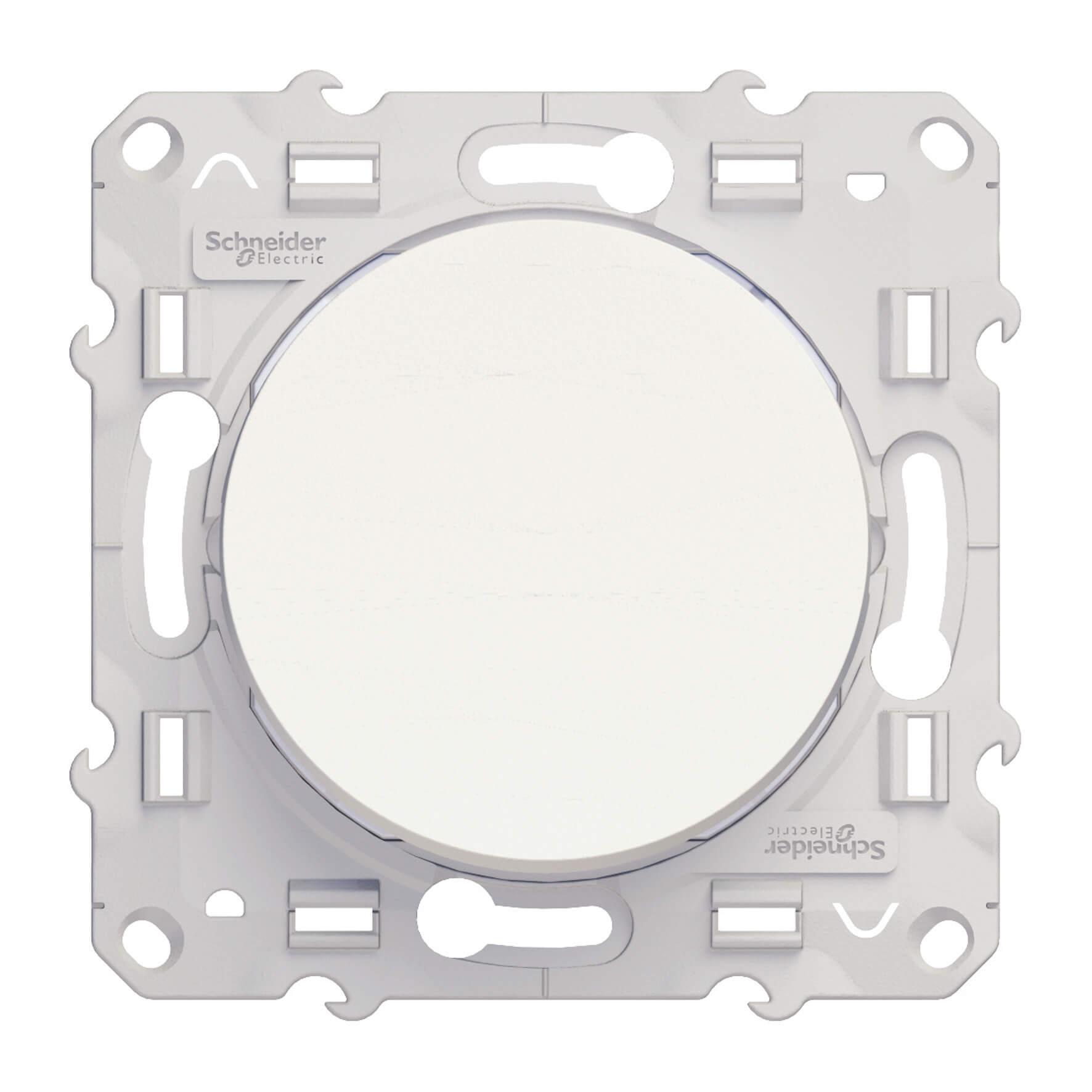 Schneider-Merten Odace kruisschakelaar 10A - wit (S520205)