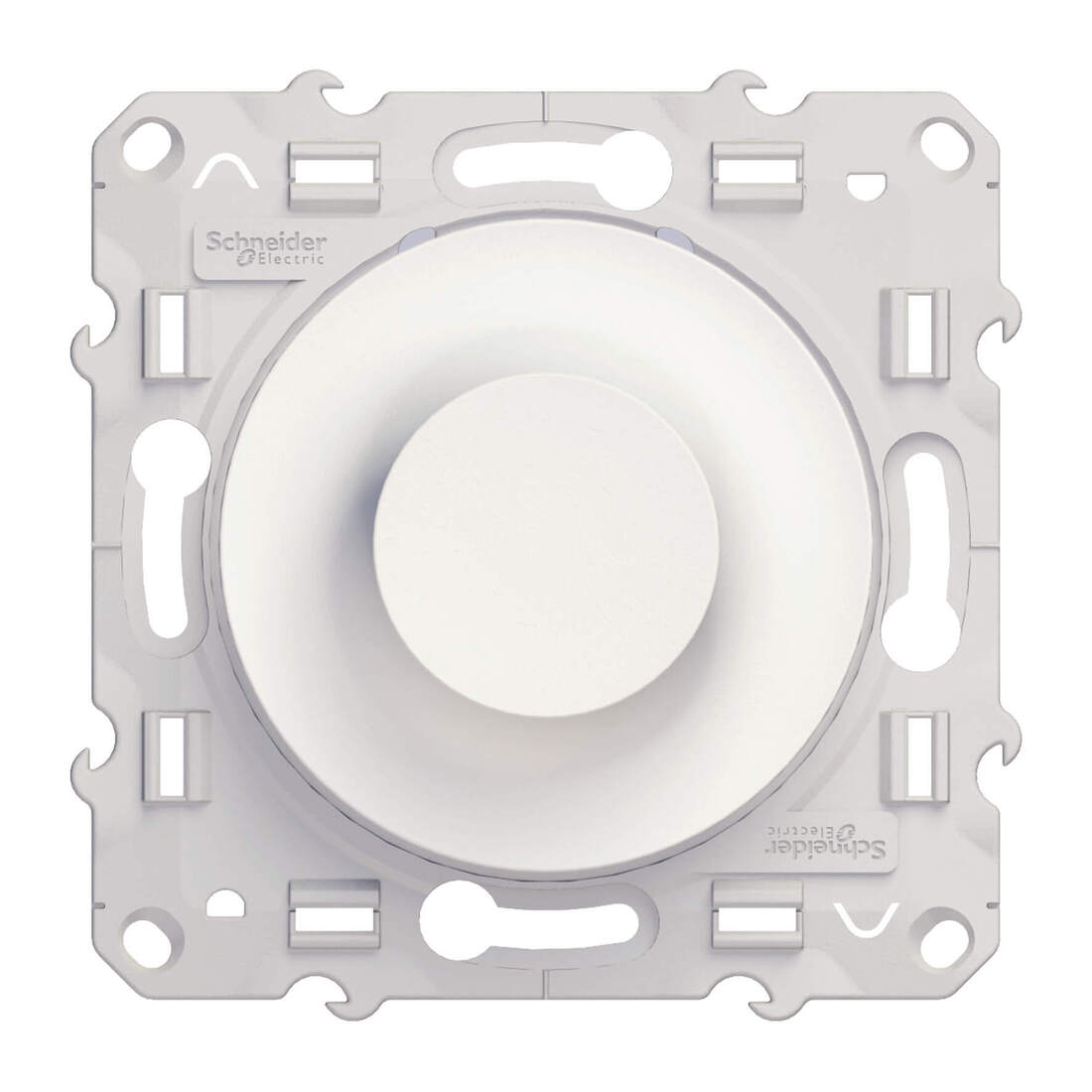 Schneider Electric Odace draaidimmer speciale lampen 9-100W - wit (S520518)