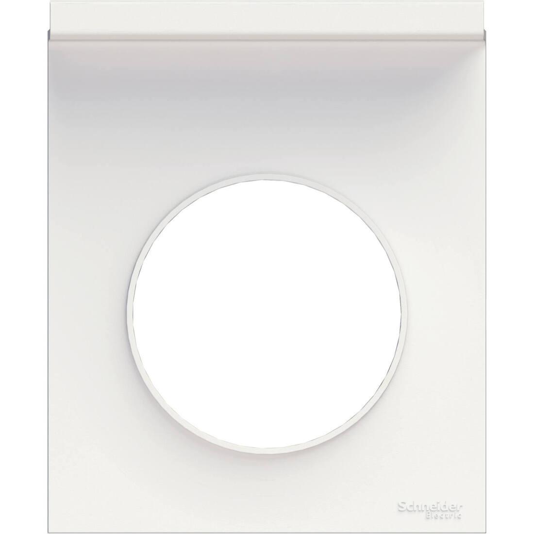 Schneider-Merten Odace style afdekraam 1-voudig - wit (S520712)