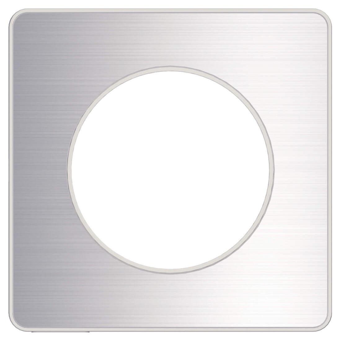 Schneider-Merten Odace Touch afdekraam 1-voudig - wit (S520802)