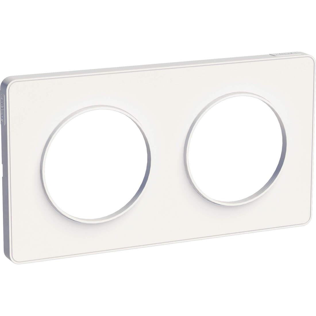 Schneider-Merten Odace Touch afdekraam 2-voudig wit (S520804)
