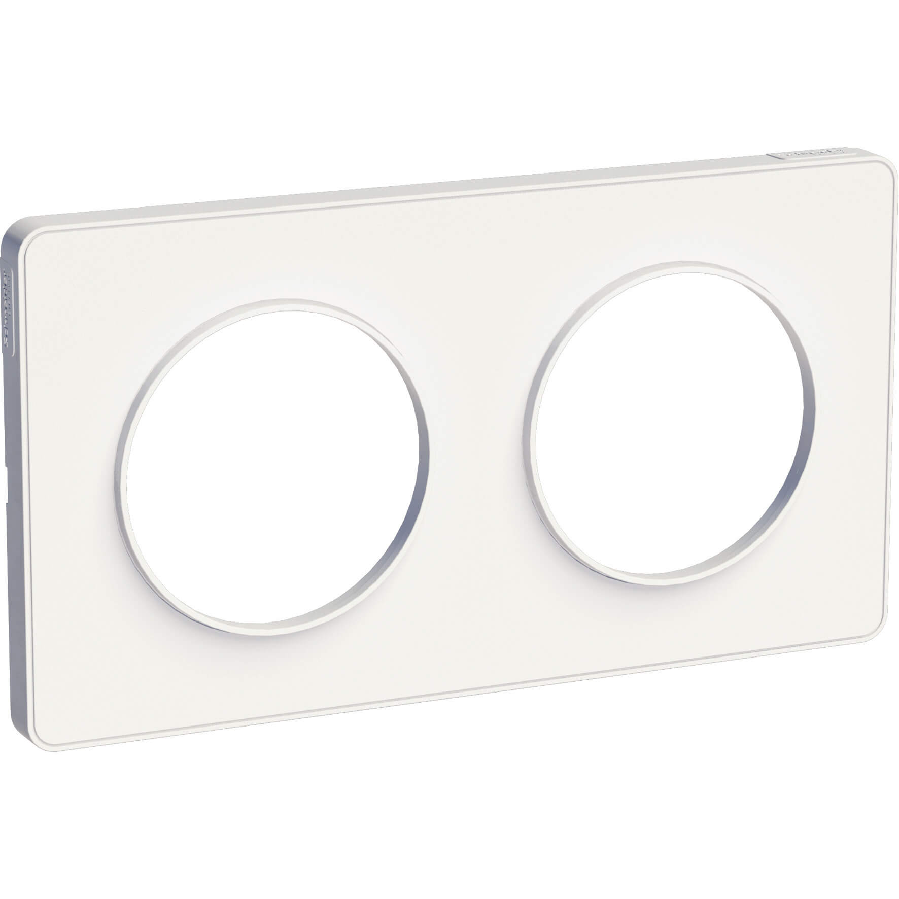Schneider-Merten Odace Touch afdekraam 2-voudig - wit (S520804)