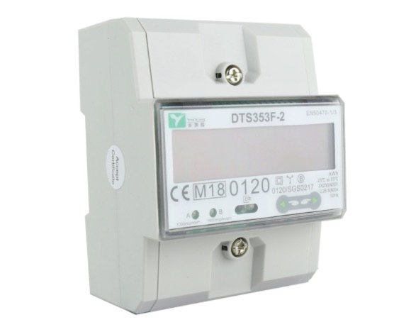 EMAT kWh meter 80A 3-fase modbus MID 5300