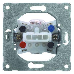 PEHA wisselschakelaar met controle functie inbouw (D 516 GLK)