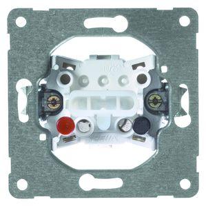 PEHA pulsdrukker 1P maakcontact inbouw (D 550)