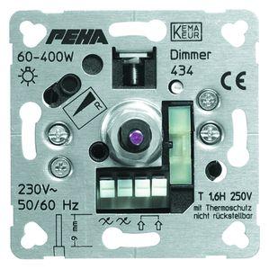 PEHA dimmer inbouw 60-400W (D 434 O.A.)