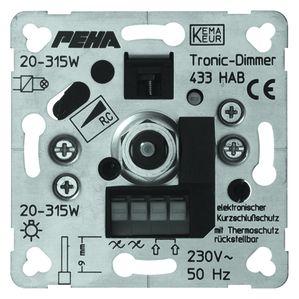 PEHA tronic draaidimmer 20-250W (D 433 HAB O.A.)