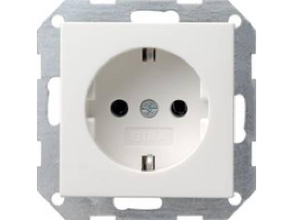 Gira stopcontact met randaarde (046603)