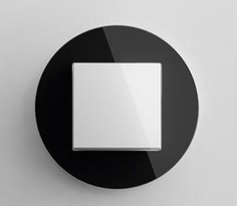 Gira studio wit/zwart