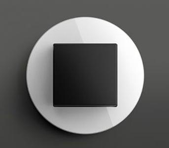 Gira studio zwart/wit