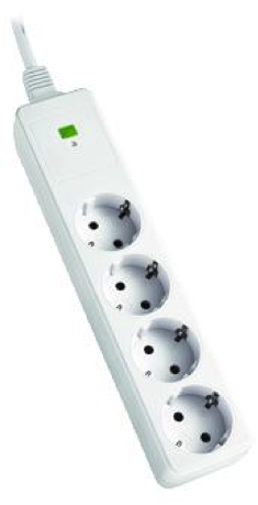Meerdere stopcontacten realiseert u met een stekkerdoos