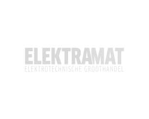 Kopp RIVO creme stopcontact 1-voudig zonder aarde kinderbeveiliging